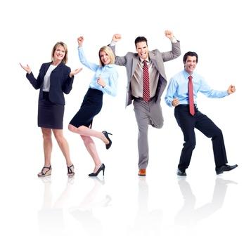 Zadowoleni pracownicy
